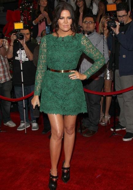 Kloe Kardashian, dresses, kim kardashian, fashion