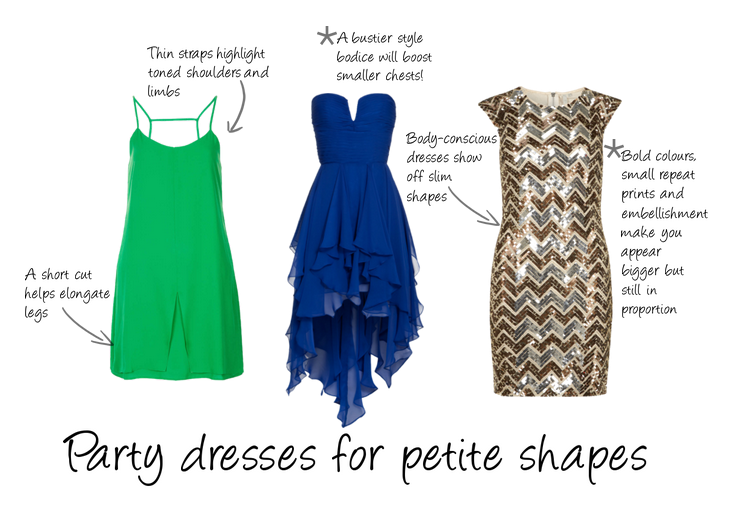 Party Dresses For Every Body Shape Dress With Press