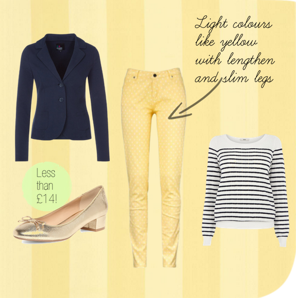 how to wear yellow pastels