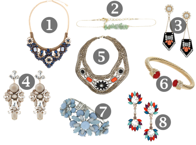jewellery wishlist