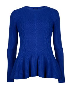 fashion, style, shop, shopping, aw14 trends, aw14 fashion, jumpers, sweaters, aw14 jumpers, aw14 knitwear, pink asos jumper, pink peplum jumper, asos knitwear, ted baker peplum sweater
