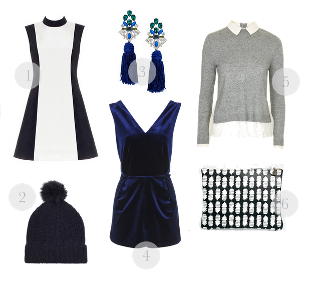 wednesday wishlist, dress with press, bob by dawn o'porter, dawn o'porter, vintage dress, vintage dresses, velvet playsuit, topshop playsuit, whistles hats, statement jewellery, statement earrings, style, fashion, fashion blogger, shopping